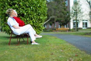 Le parc de Marchiennes : un moment de sérénité pour nos patients.