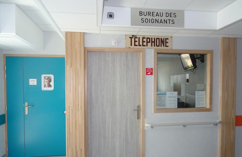 bureau des soignants UPD DENAIN