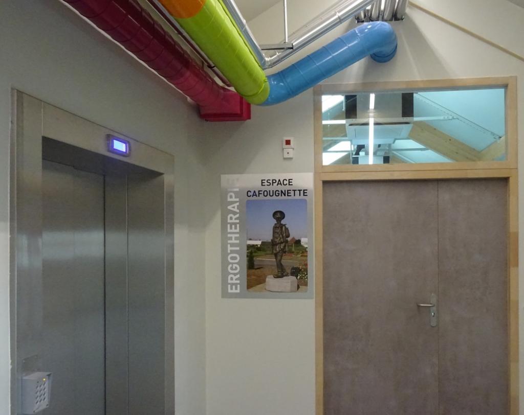 entrée de lespace Cafougnette (4ème étage)