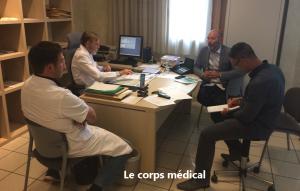sensibilisation du corps médical