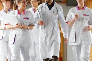 équipe de la clinique Saint-Roch