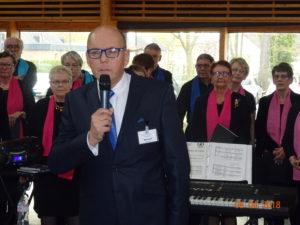 Bertrand Bauduin, bénévole
